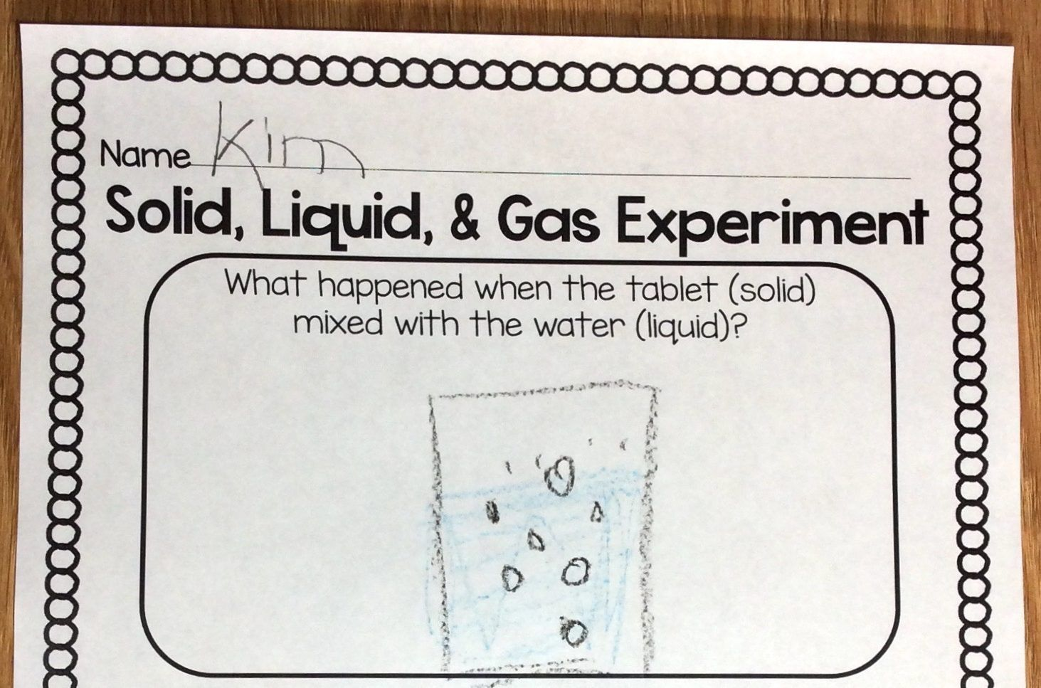 Easy Amp Fun Solid Liquid Gas Science Experiment With Free