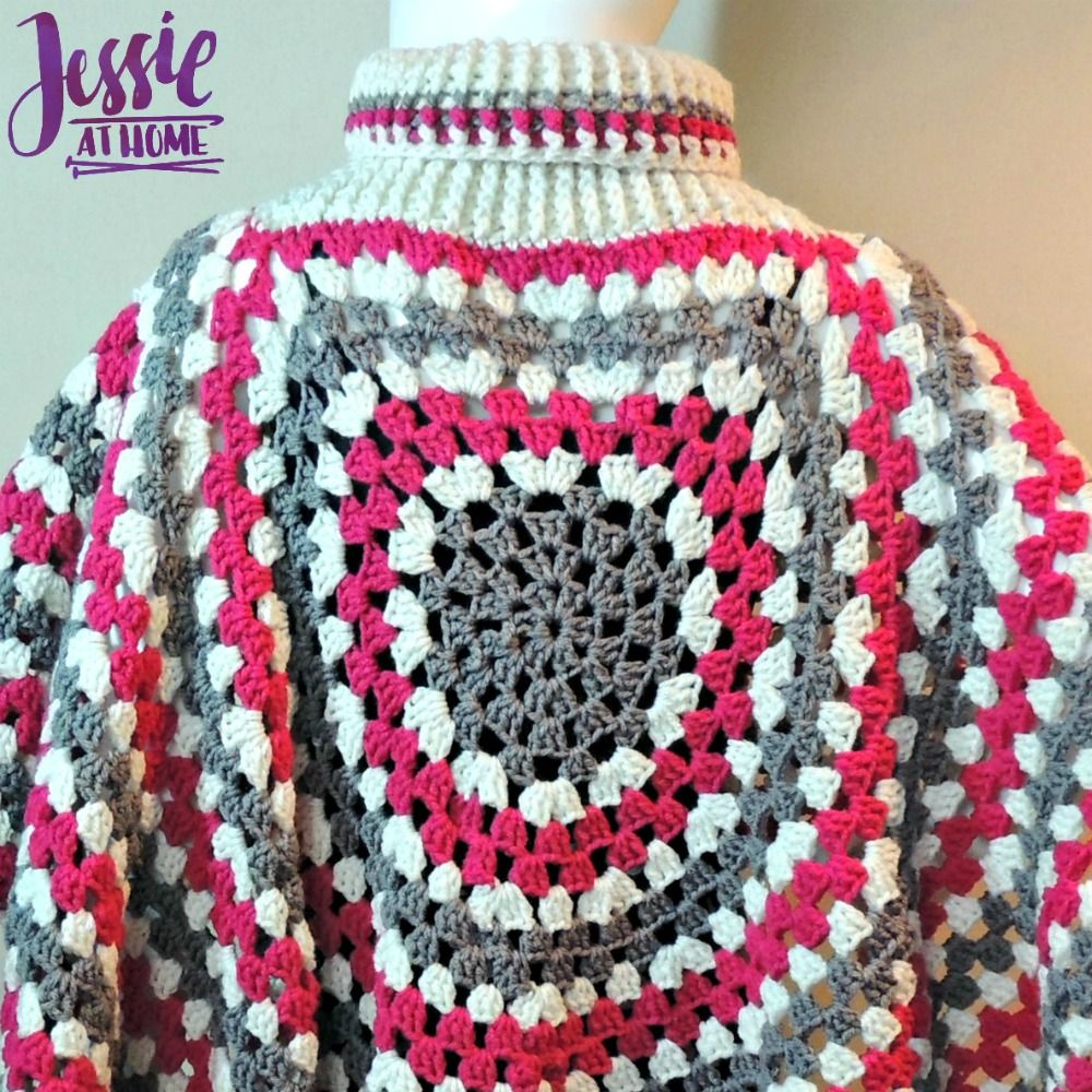 Circular Poncho - free crochet pattern by Jessie At Home - 4 ...