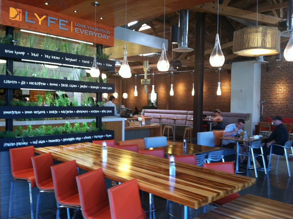Lyfe Kitchen Culver City Ca United States Inside
