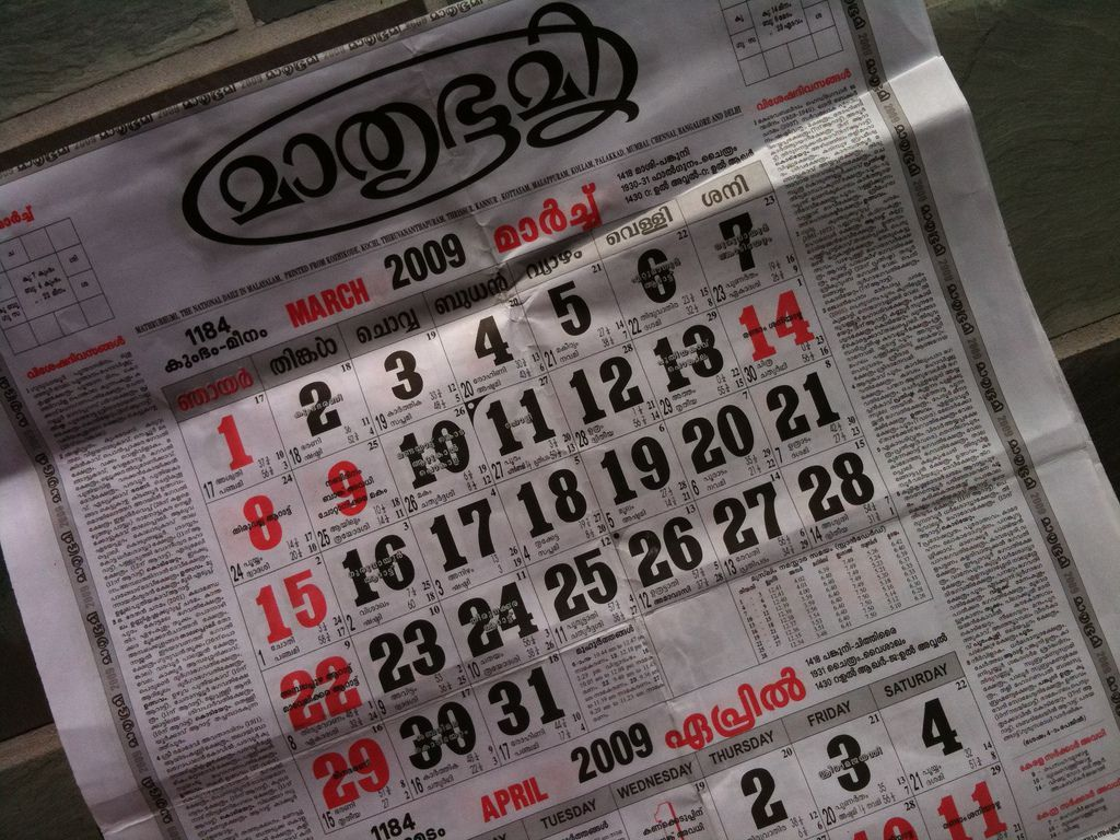 A Quick Introduction to the Hindu Calendar System Yearly