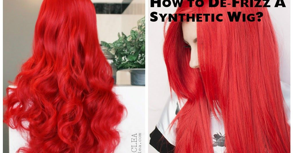 Synthetic wigs are prone to frizz and tangles. Though a