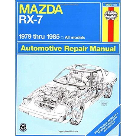 1985 Mazda Rx 7 Wiring Diagram - Wiring Diagram Schema