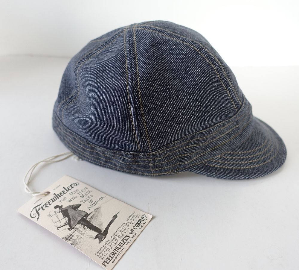 e54cd39a FREEWHEELERS Japan Denime Union Special Overalls Ironclad Navy Guthrie Cap  Hat #FreewheelersandCompany #Cap