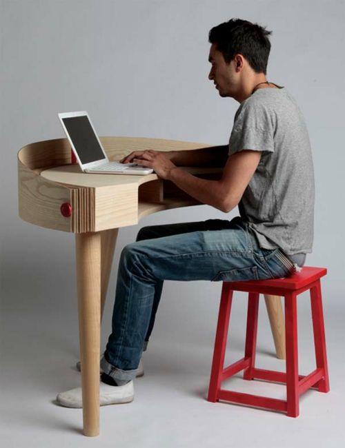 42 Ausgefallene Schreibtische Für Ihr Büro   Ausgefallene Schreibtische Für  Ihr Büro Arbeit Holz Kompakt