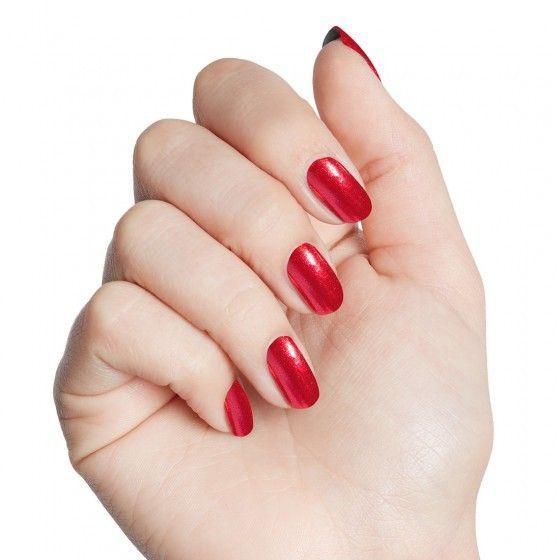 Risk-taker red iridescent chrome nail polish | Nails. | Pinterest ...