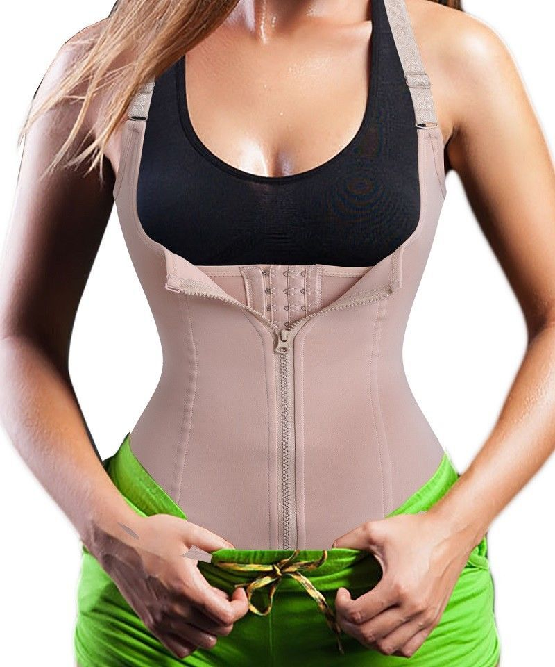 09441ae311  13.99 - Tummy Control Waist Trainer Belt Vest Top Corset Body Shaper  Bodysuit Fat Burner  ebay  Fashion