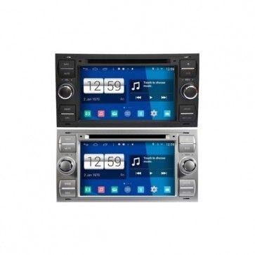Autoradio Android Ford Focus Fusion C Smax Kuga Galaxy Transit Fiesta Poste Dvd Gps Android 4 4 4 Usb Bluetooth Ecran Tactile Mirr Ecran Tactile Ford Focus Usb
