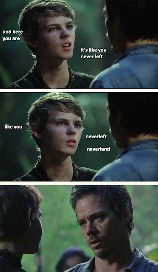 """The moment when Peter went too far. 