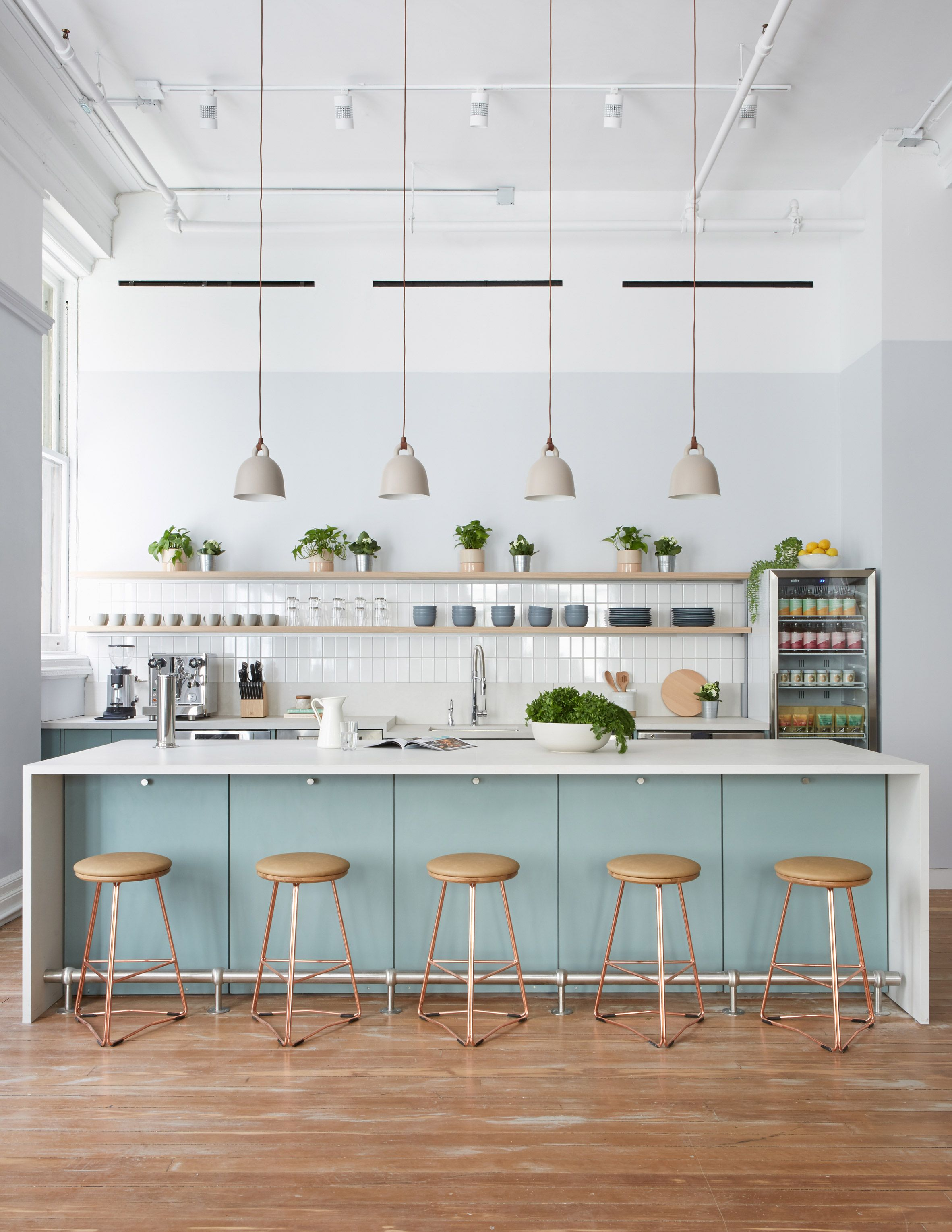 Earthy and homey details feature in new york doctor   clinic parsley health by alda ly also best home images rh pinterest