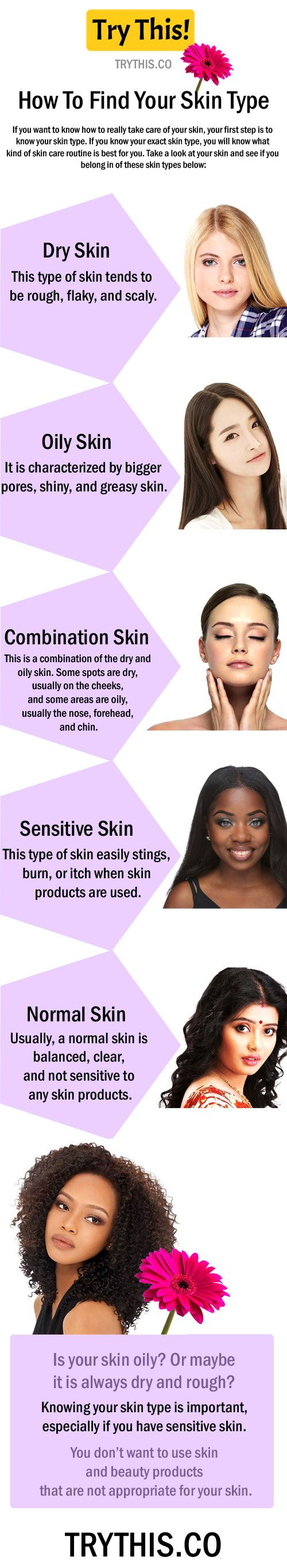Skin Care Routine How To Find Your Skin Type Skin Care Normal Skin Skin
