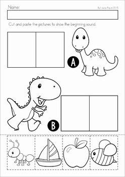 dinosaur preschool no prep worksheets activities worksheets literacy and math. Black Bedroom Furniture Sets. Home Design Ideas