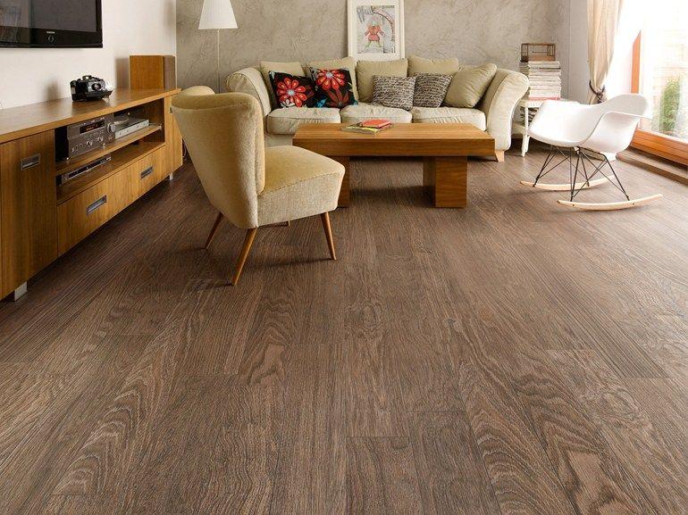 Pavimento in gres porcellanato effetto legno hejmo by - Incollare piastrelle su legno ...
