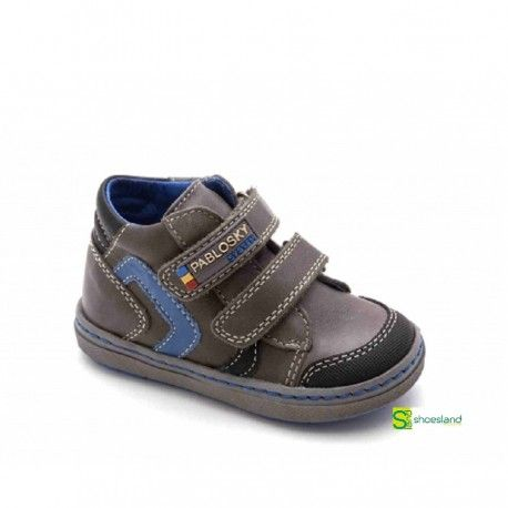 Zapatos grises Pablosky infantiles YD8t10