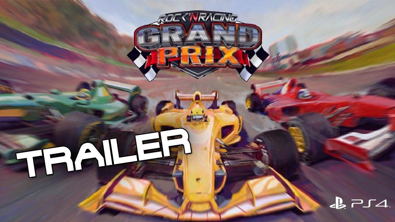 Grand Prix Rock´N Racing PS4 Trailer 1080 60fps