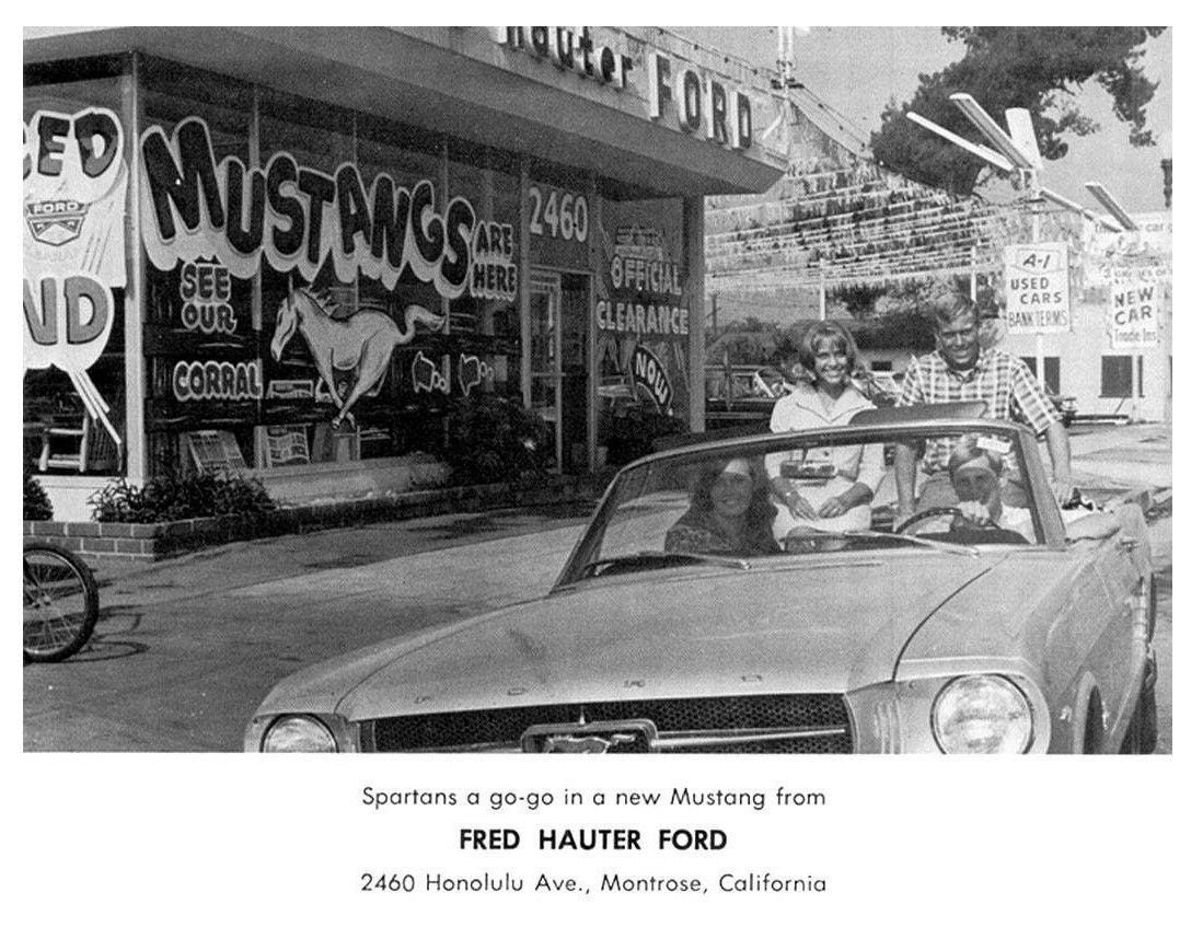 Mustang 1st Generation Dealer Vintage mustang, New