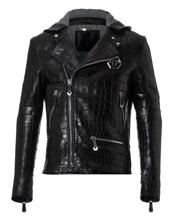 Philipp Plein - Leather Jacket \