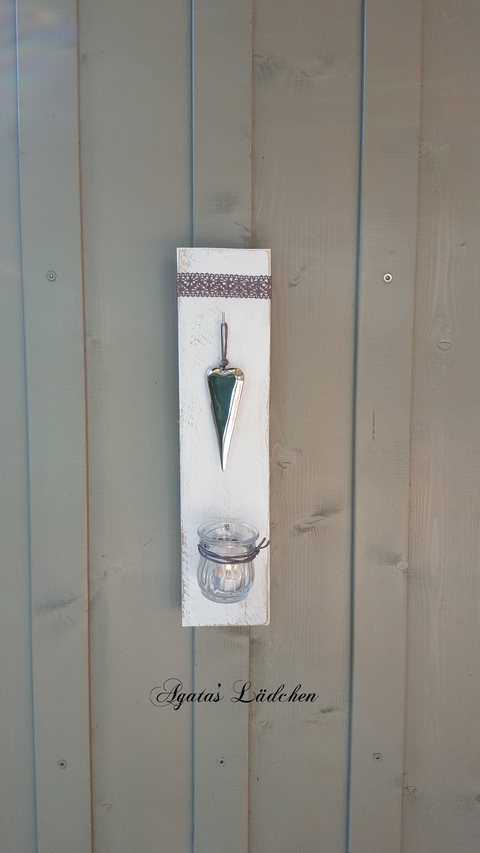 Wanddeko Herz Im Shabby Chic Stil Dekoration Zum Aufhangen