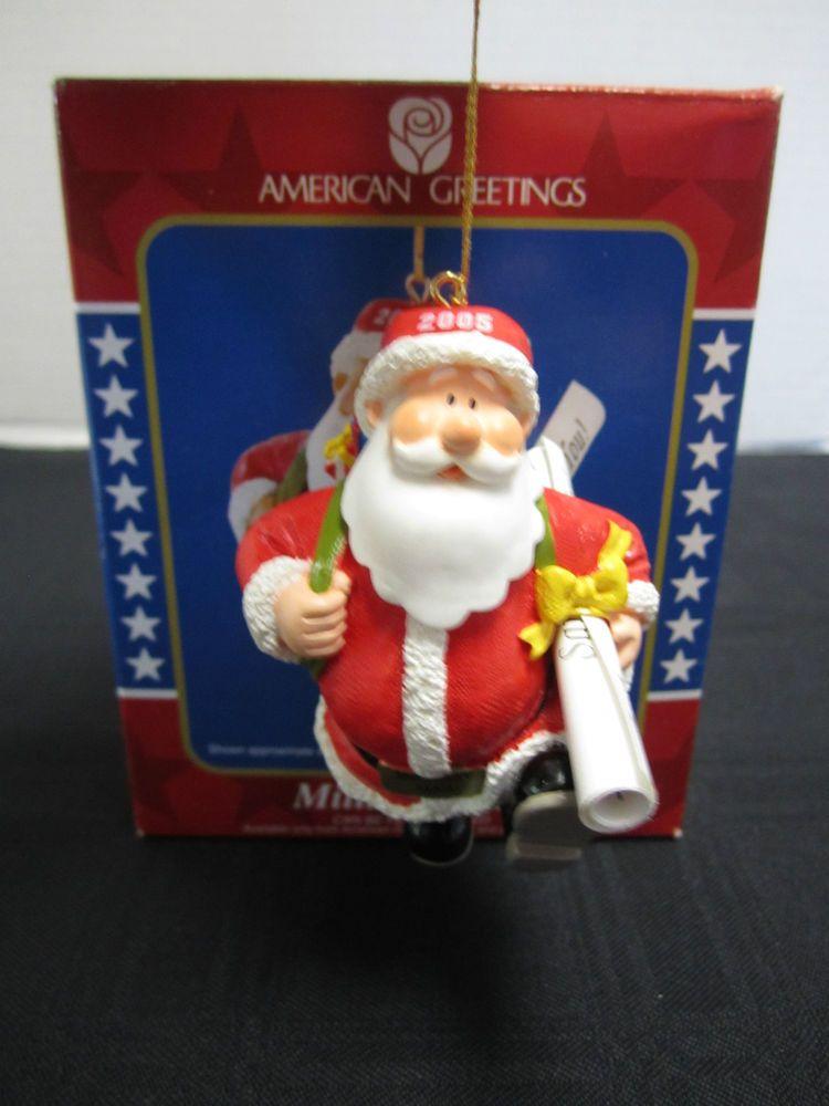 Santa's Military Mail Christmas Ornament American Greetings 2005 ...