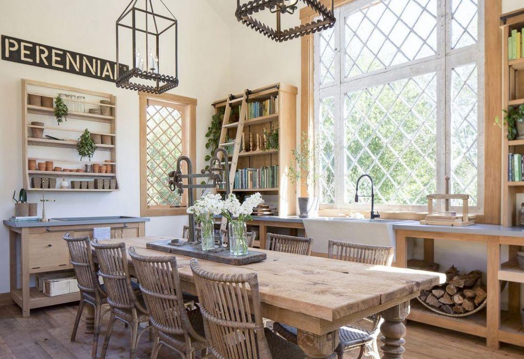 14 that will make you dining room decor farmhouse joanna gaines 3 decorinspira com in 2020 on farmhouse kitchen joanna gaines design id=18362