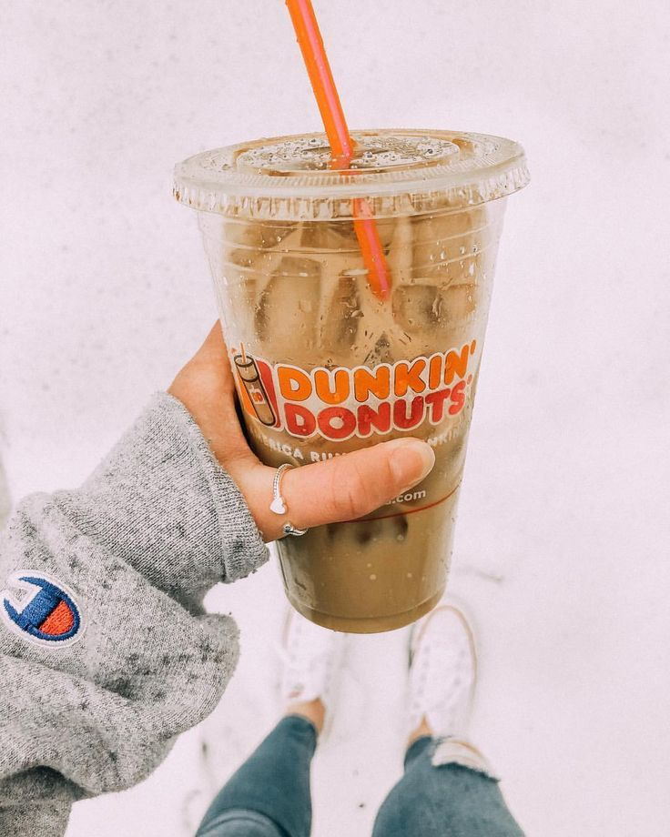❄︎ iced coffee all the way [even in the 30 below weather] ❄︎ is it snowi...   - ✰ food ✰ -