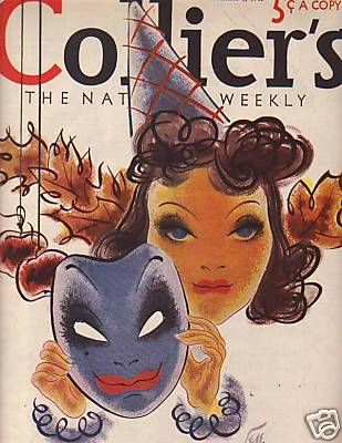 Vintage Halloween Magazine ~ Collier's ©1940
