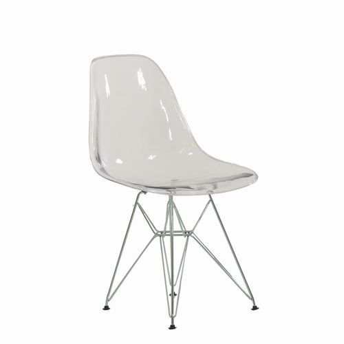 Eames Inspired Eiffel Dsr Metal Style Chair Lounge Dining Retro Designer Eames Chair Metal Style