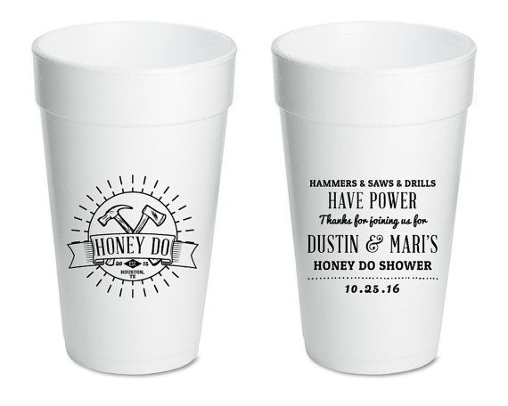 honey do couples shower cups couples shower favors bridal shower gifts and mementos wedding shower wedding
