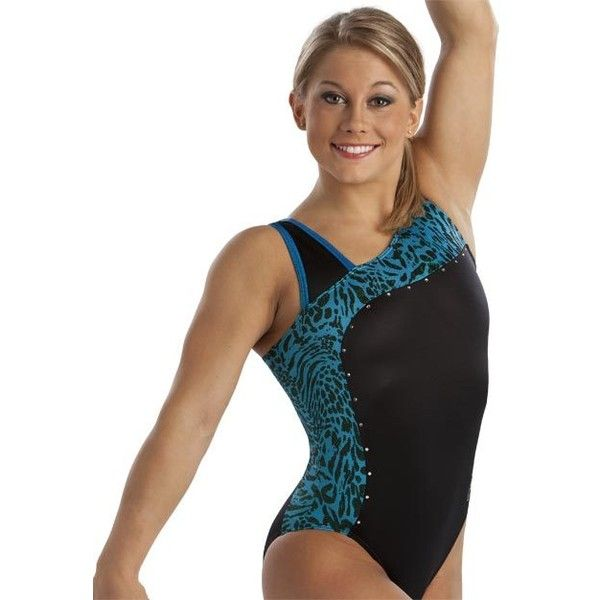Classic Navy Curved Tank Leotard from GK Elite