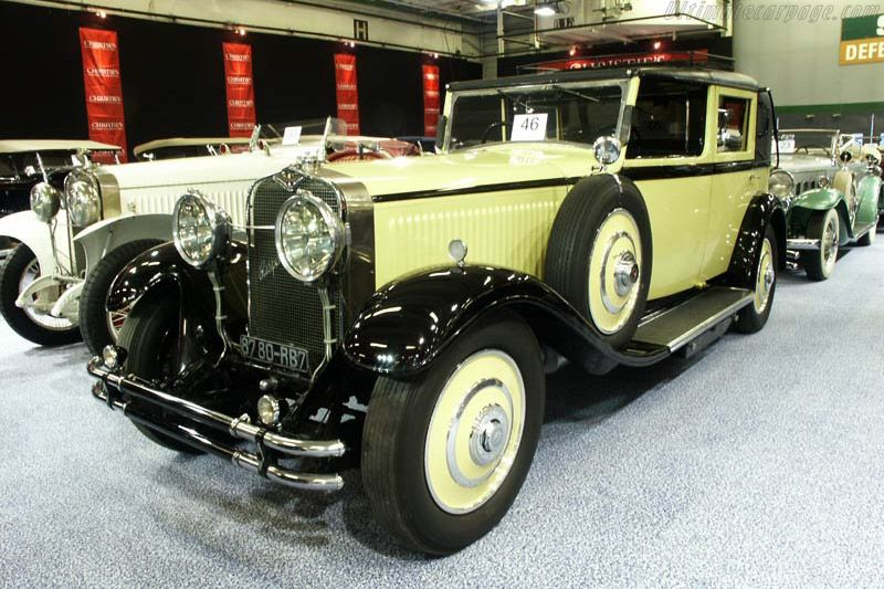 Hispano Suiza H6C Kellner Landaulet (2002 Retromobile) High Resolution Image