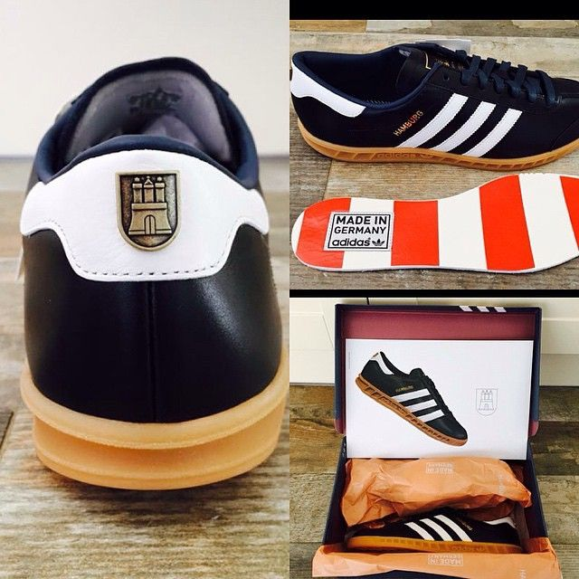 acfefbbfbc Adidas Hamburg Made in Germany