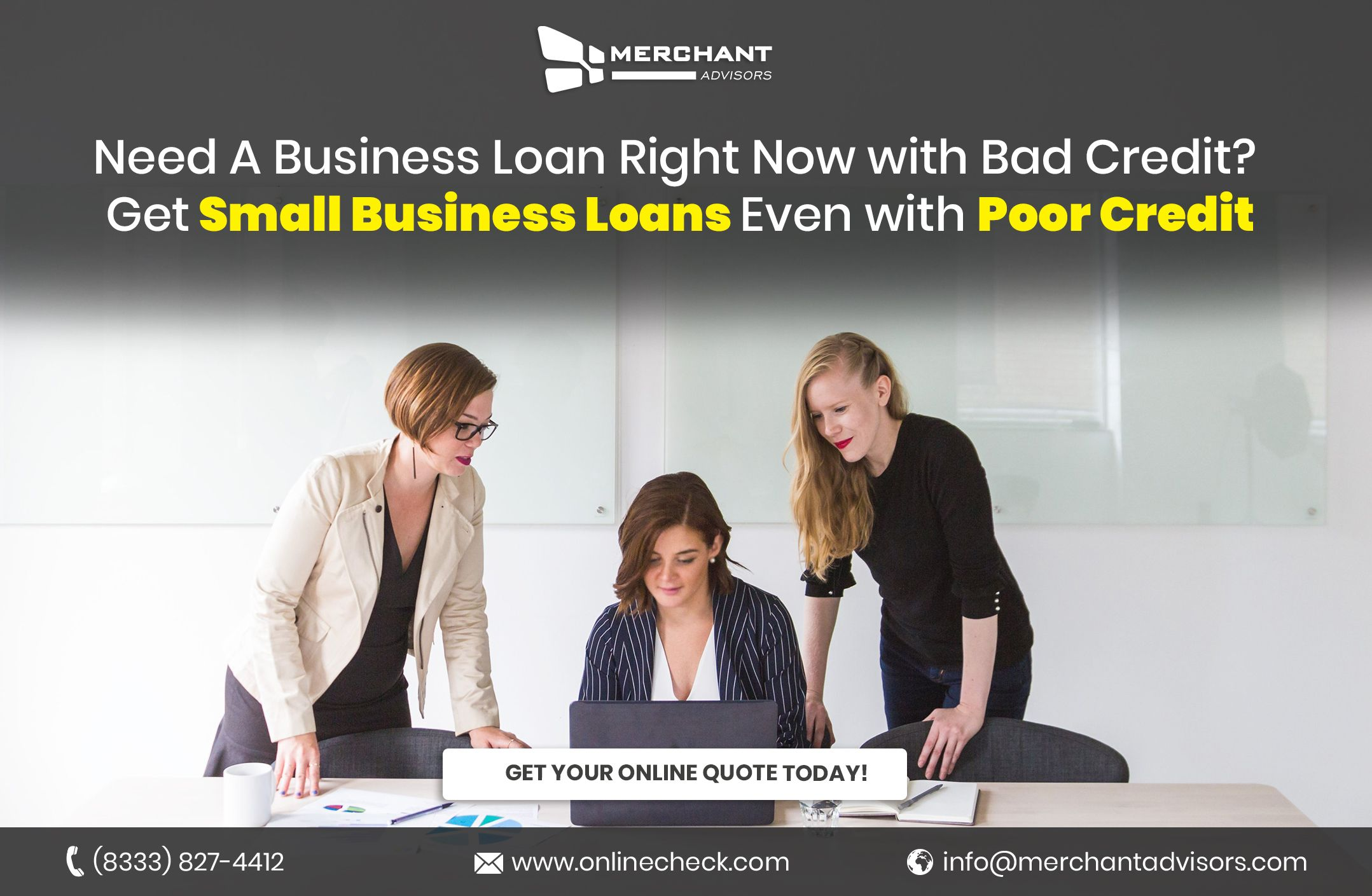 Poor Credit Business Loans Opportunity For Entrepreneurs Business Loans Small Business Loans Best Payday Loans