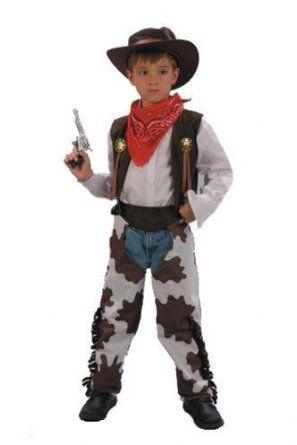 Cowboy Fancy Dress Costume (child size) - Age 8 - 11 years (disfraz)  Amazon .es  Juguetes y juegos c4e65fb25c2