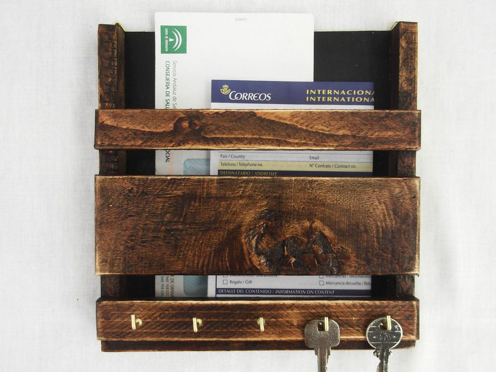 letter holder wall Wall Hanging Mail Holder and Key