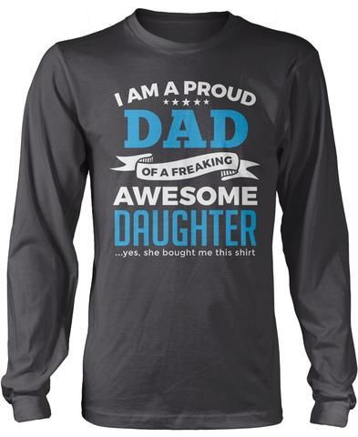 213adceb Proud Dad of An Awesome Daughter | Volleyball | Comfy hoodies ...