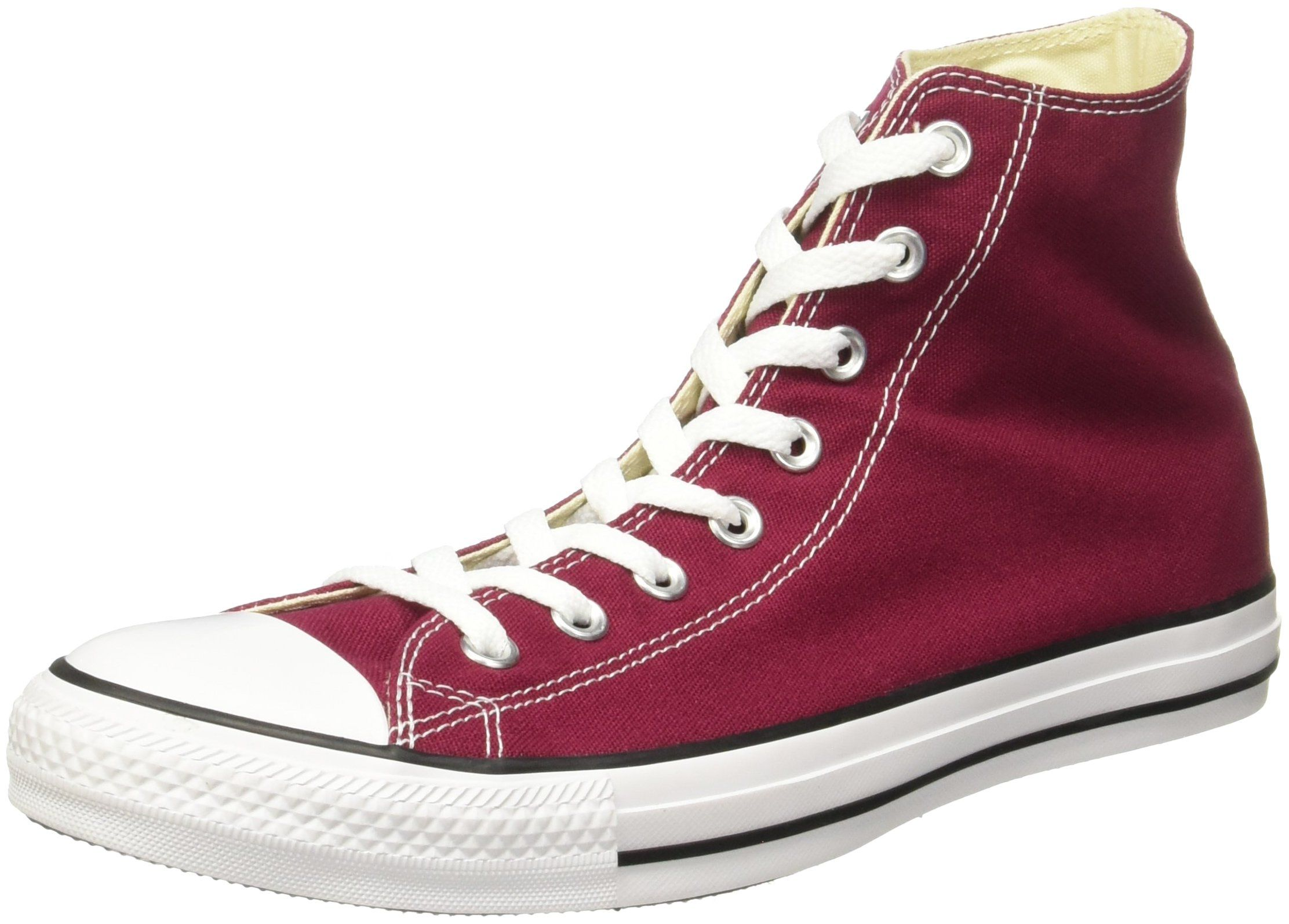 Converse Men's All Star Hi Trainers, Red, ...