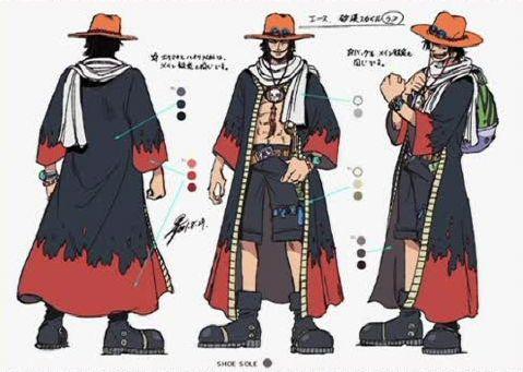 One Piece Portugas D Ace Arc Alabasta ワンピース 漫画 白ひげ