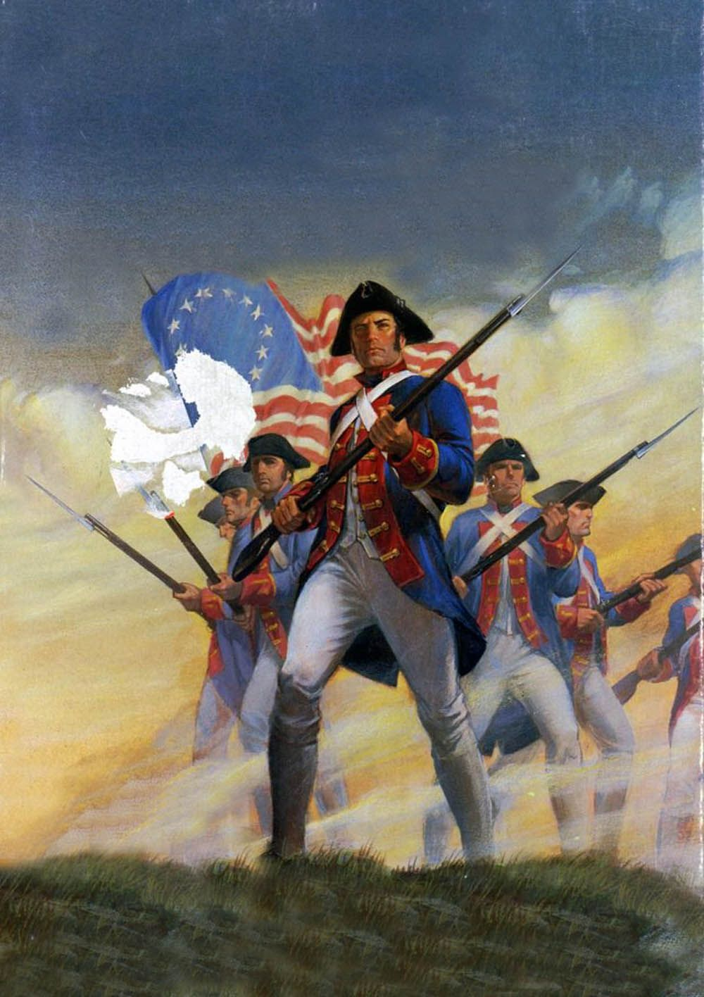 American Continental Troops American Revolutionary War American War Of Independence Military Art