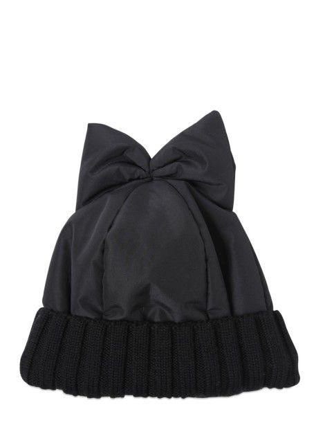 Chapeaux Femmes - Federica Moretti Bonnet en nylon rembourré avec noeud