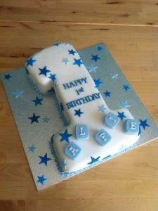 Sensational No 1 Shaped Birthday Cake With Images Birthday Cake Kids 1St Personalised Birthday Cards Paralily Jamesorg