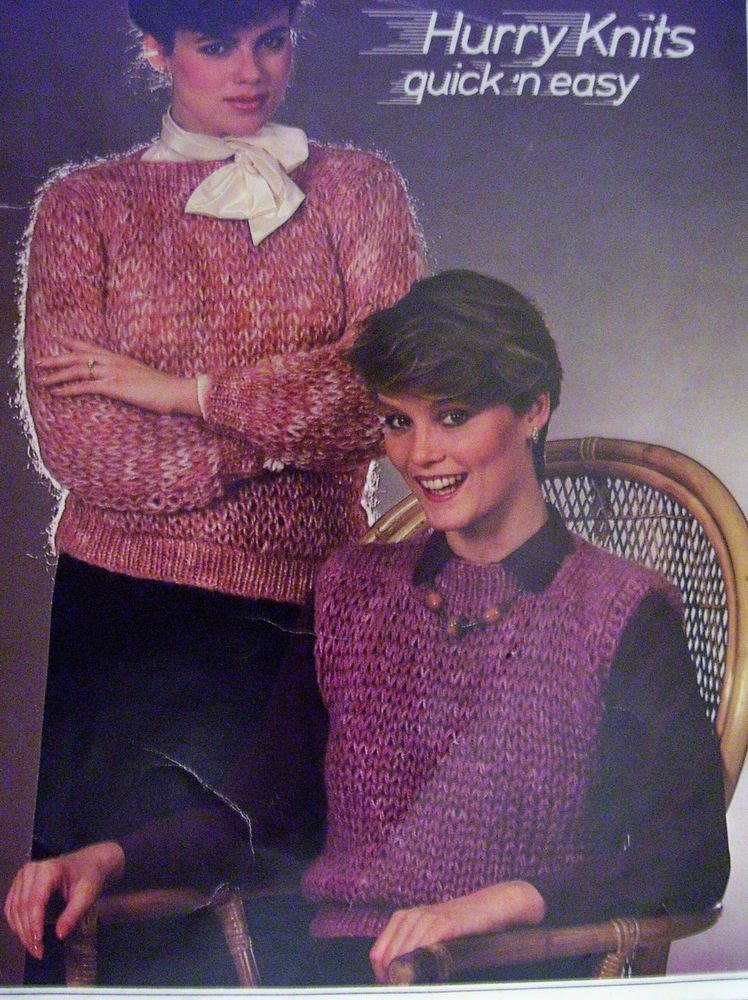 Quick and Easy Knitting Pattern for Women\'s Sweaters #Jaeger ...