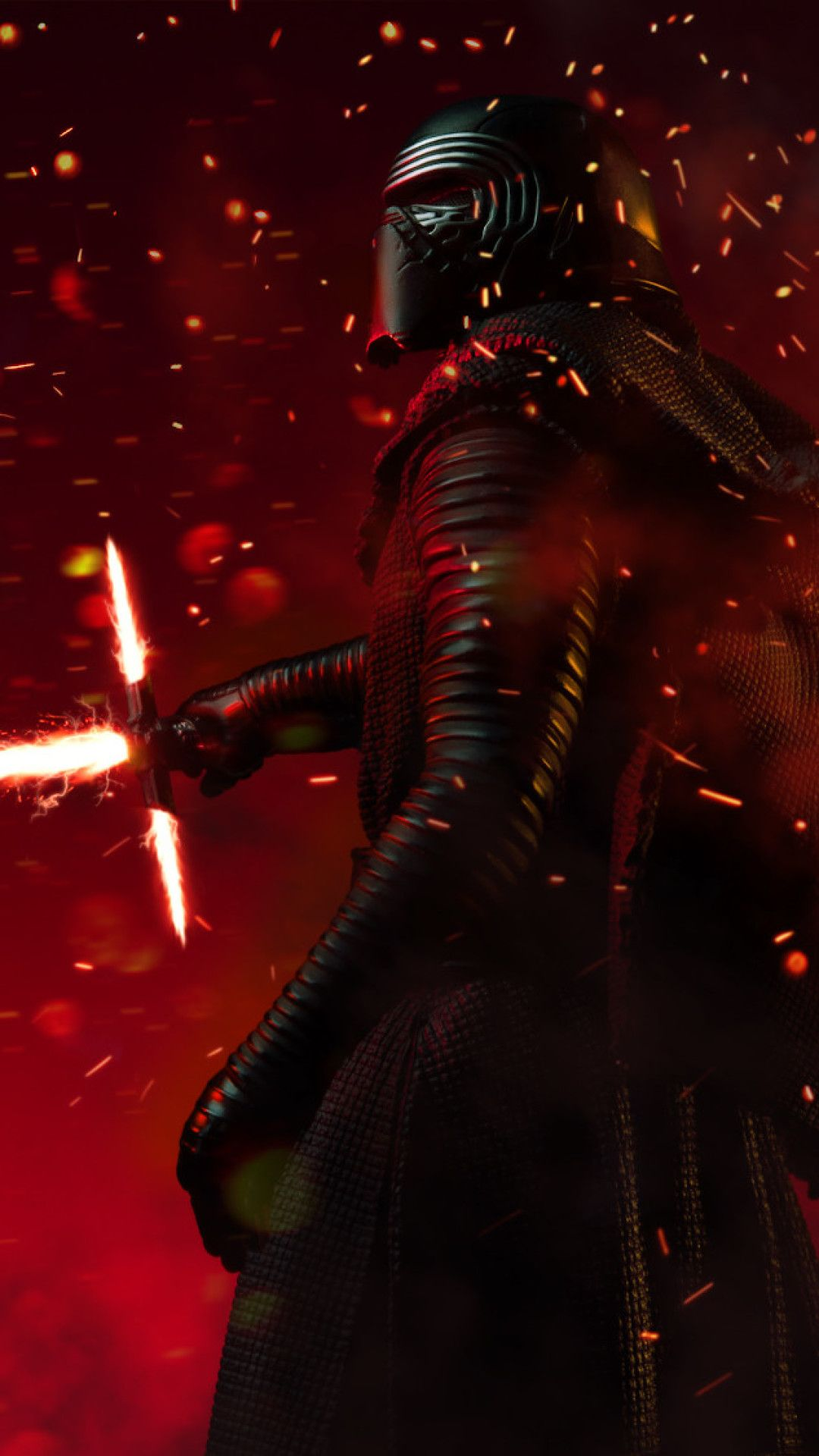 CGI Kylo Ren New Mobile Wallpaper (iPhone, Android