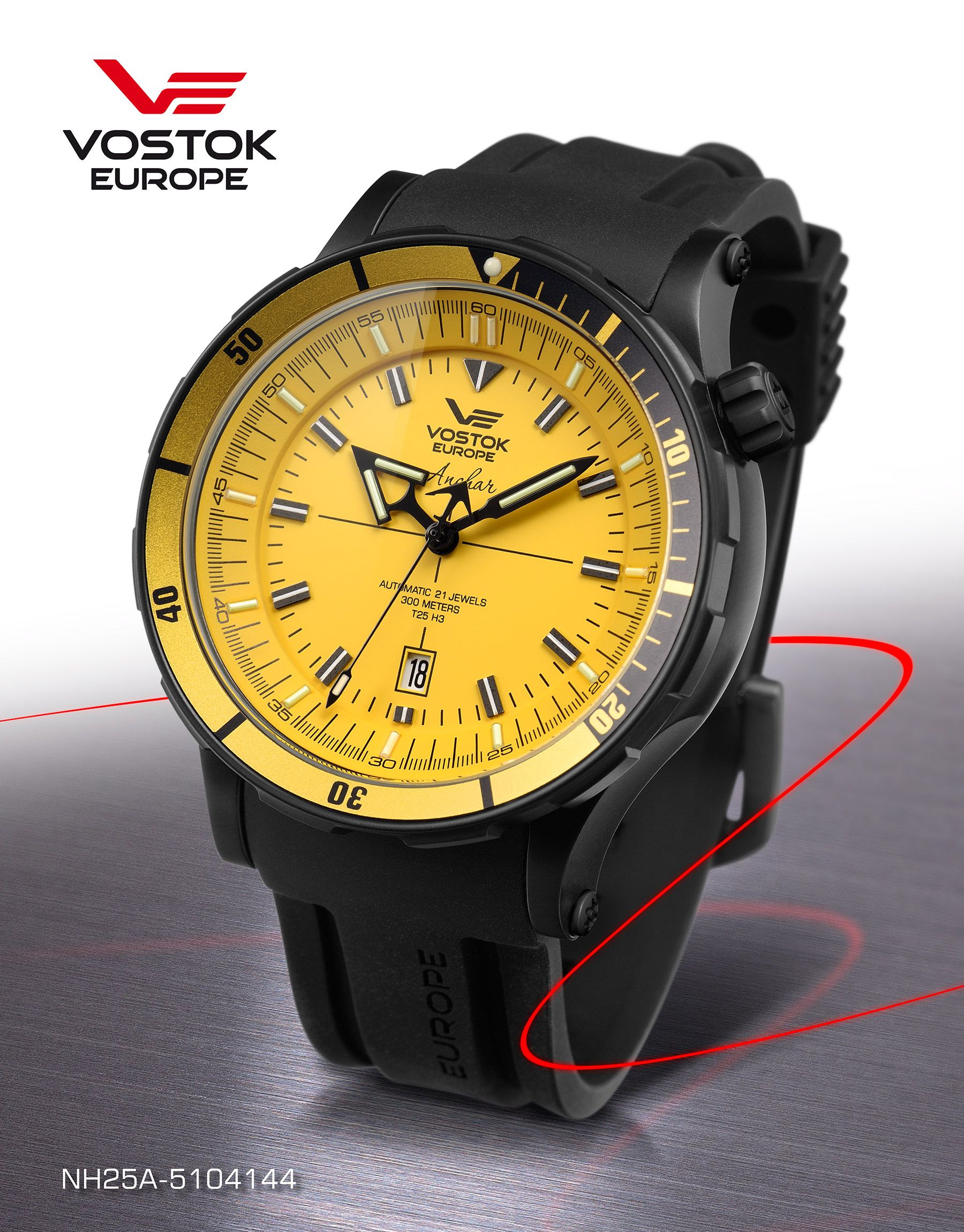 Affordable luxury, adventure and extreme sports watches with GTLS technology. Vostok is a unique fusion of tradition, innovation and cost effective style. Retail price between Rs.35,000 and Rs.60,000 plus VAT. Available at www.chronowatchcompany.com