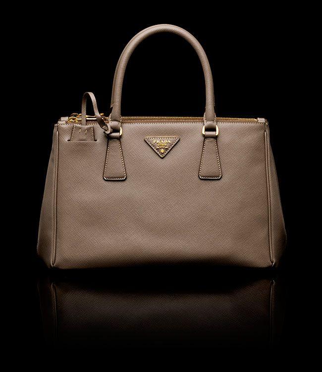 Olivia Leather Handbag S Taupe