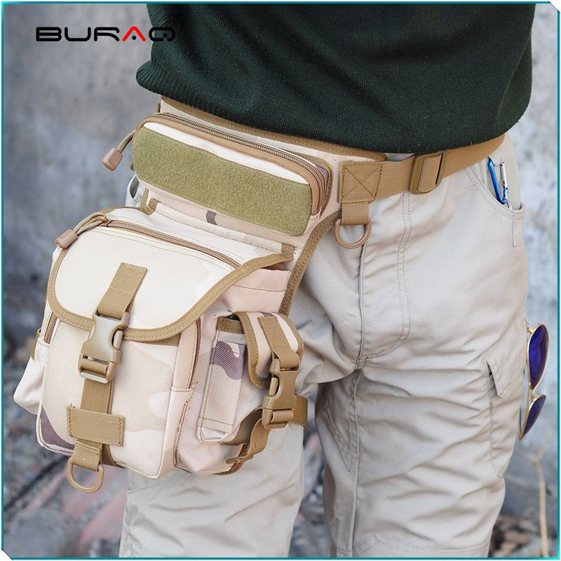 Good for  Tactical Sports Camping Riding. Waterproof, big and deep pockets. -FREE SHIPPING WORLDWIDE-