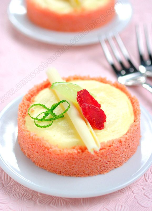 ***** Voici un dessert qui va vous éviter d'avoir des remords d'avoir craqué pour un dessert. Inspirée d'une recette de tarte que j'avais eu lors d'un cours de cuisine chez Demarle, cette tartelette associe douceur, saveur et légèreté. De plus il n'y...