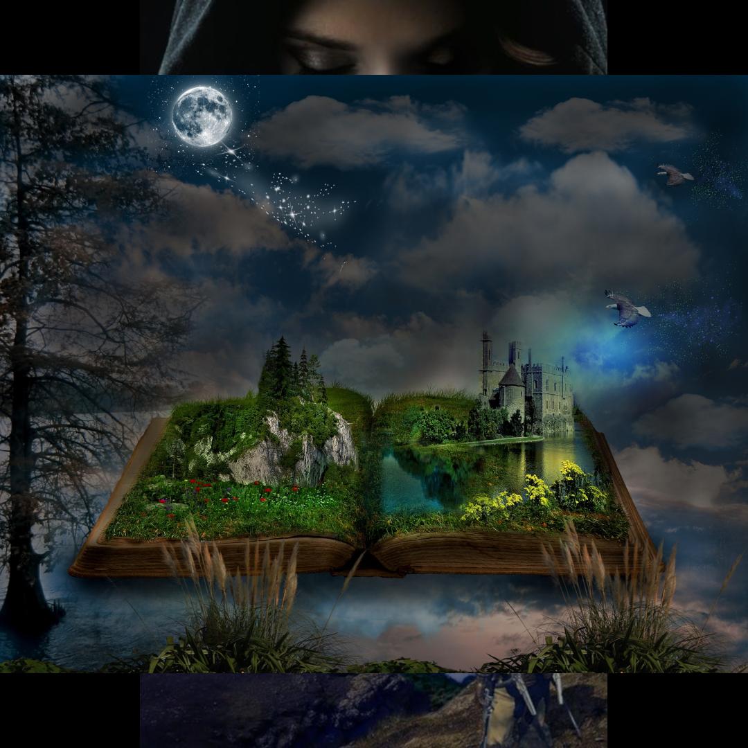 Yup The World Of Imagination Book Bookstagram Reading Bookworm Booklover Bookish Bookaddict Writers Cross Paintings Diamond Painting Night Painting