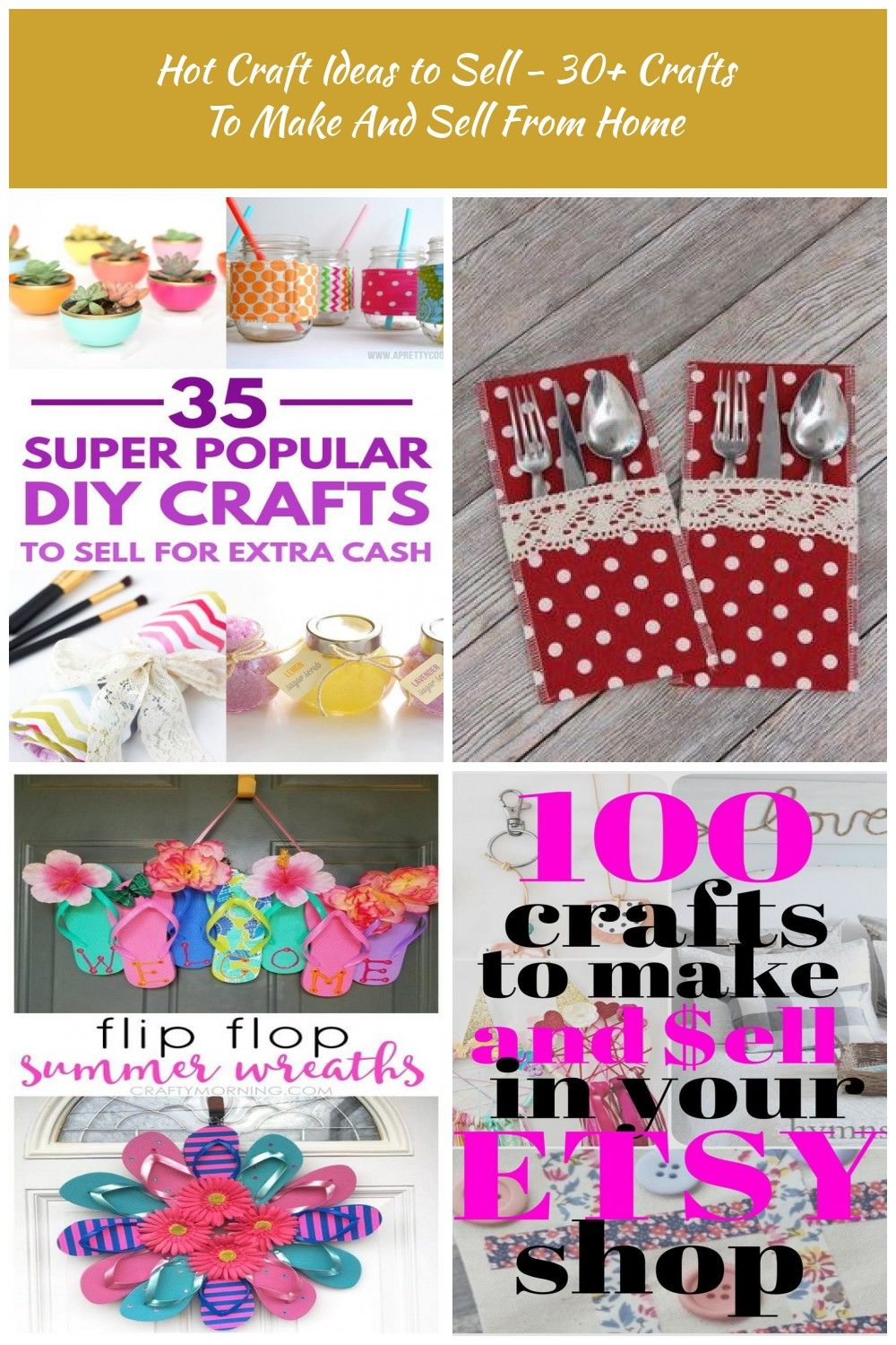 Easy DIY Crafts To Sell & Cheap Projects Ideas That Will Sell Out Quickly On Ets…