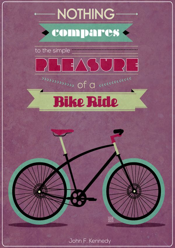 Bike Quotes By Shawny Walthaw Via Behance Cycling Humor