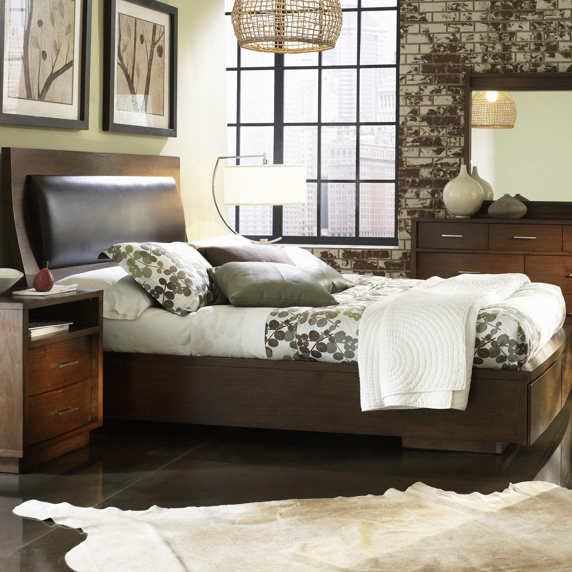 Julien Upholstered Storage Platform Bed Mattress