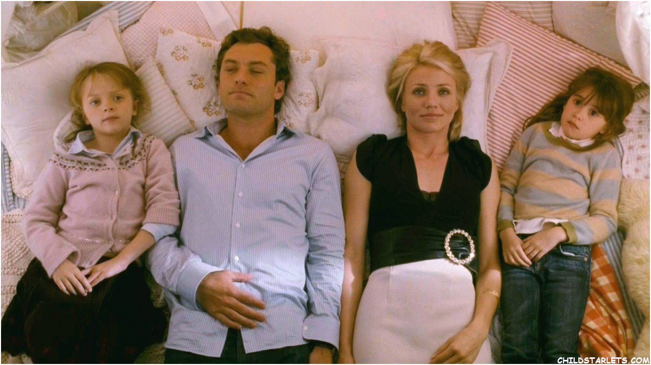 """""""The Holiday"""" Jude Law & Cameron Diaz"""